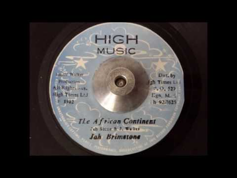 Jah Brimstone - The African Continent & Dub
