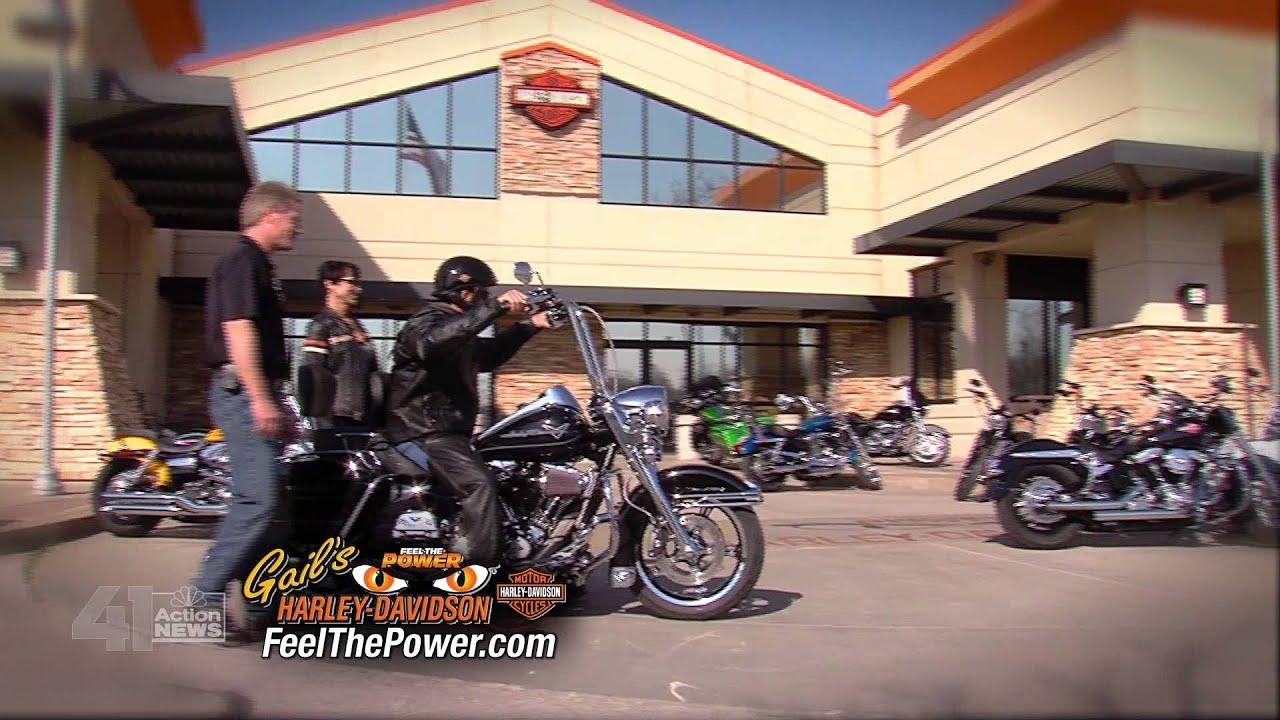 Gail's Harley Davidson Defining Mots 2013 Bug HD - YouTube