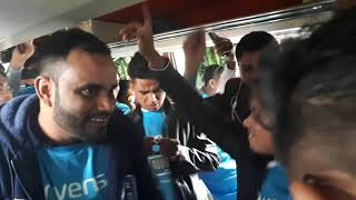 Funny Dance with Song at Picnic Bus 2018