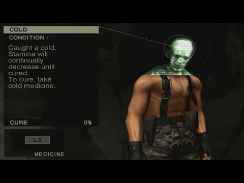 MGS3 - How to Catch a Cold