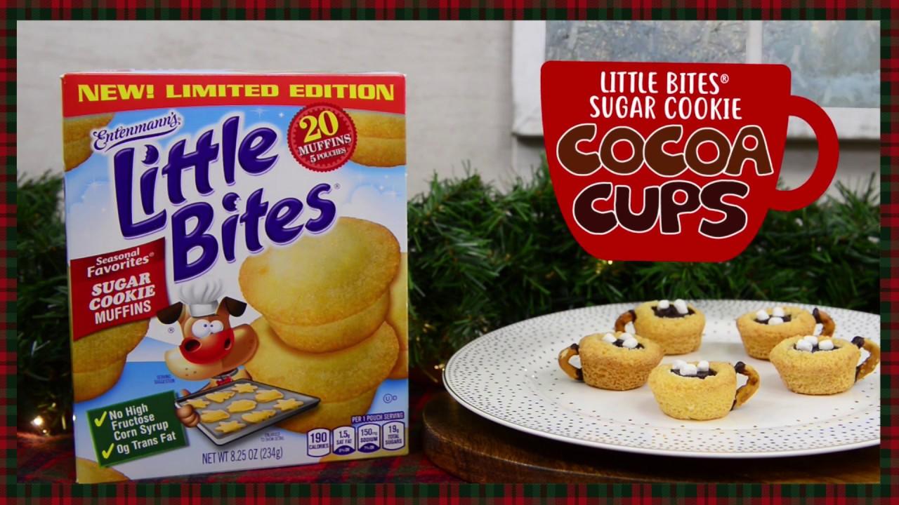 EntenmannsR Little BitesR Sugar Cookie Muffins Cocoa Cups