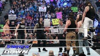 Download Roman Reigns, Dean Ambrose & Chris Jericho vs. Bray Wyatt, Harper & Rowan: SmackDown, Jan. 28, 2016 Mp3 and Videos