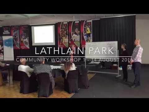 Lathlain Park Community Workshop 1