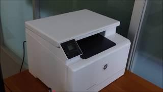 Unboxing Printer HP Color LaserJet Pro MFP M180n