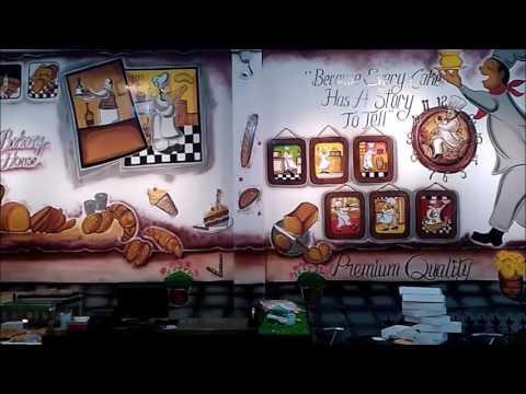 Bakery Shop Interior Design Ideas - YouTube