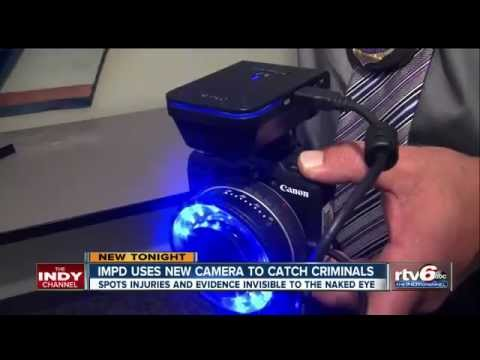 ILLUMACAM-2 All-in-One Forensic Light Source and Camera - YouTube