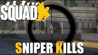 SQUAD Sniper KILL Compilation