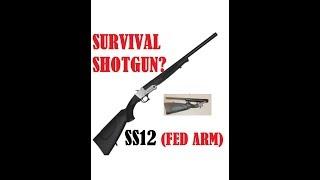 SS12 FED ARM Survival Shotgun Best Break Open Single Shot Budg…