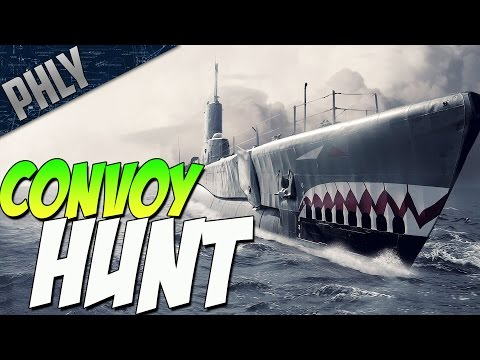 CONVOY HUNT - DAS BOOT (IronWolf VR Gameplay)