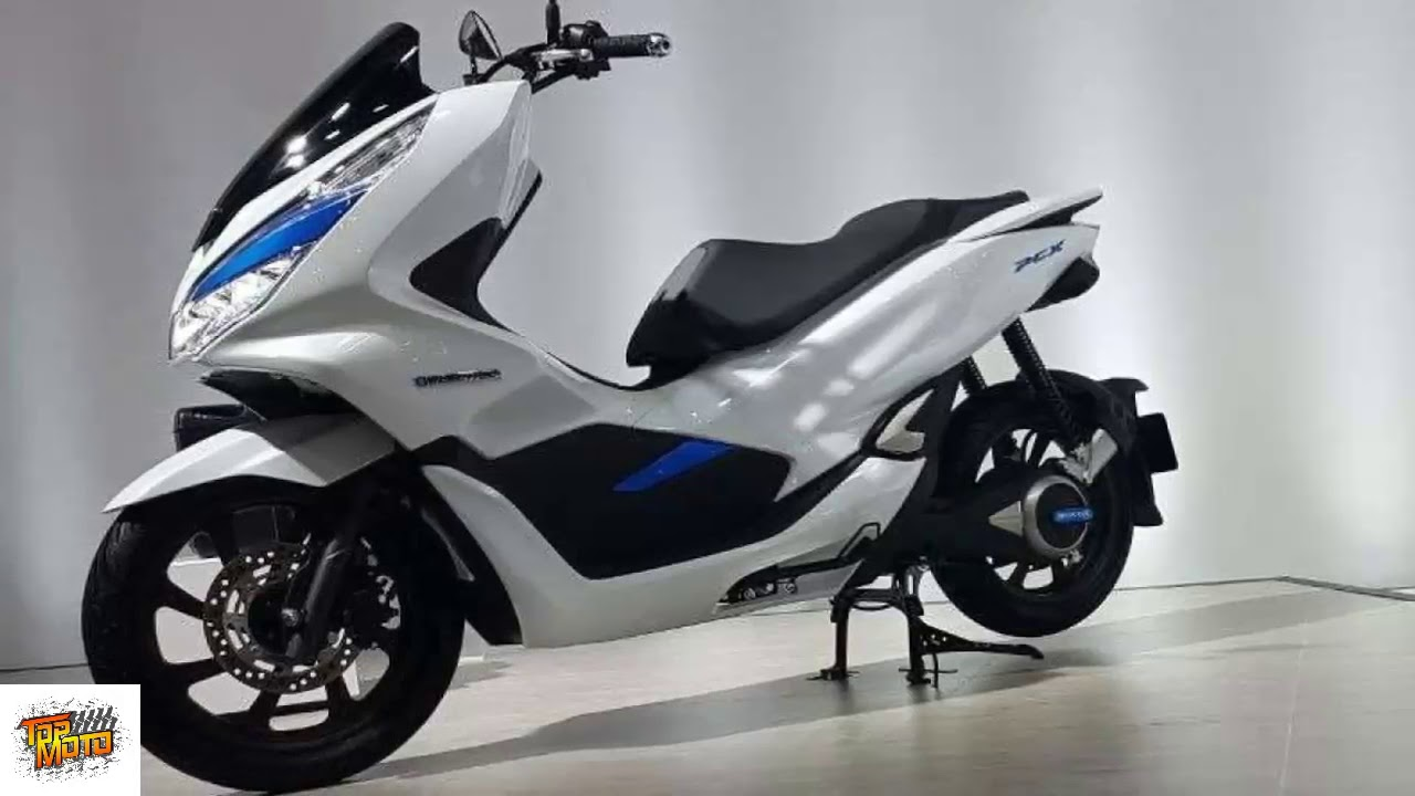 Honda Pcx Electric >> 2018 Honda Pcx Electric Scooter High Technology Youtube