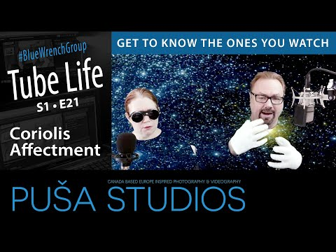 Puša Live Stream #031: Wisdom Wednesday with Coriolis Affectment and Mrs. Shelley