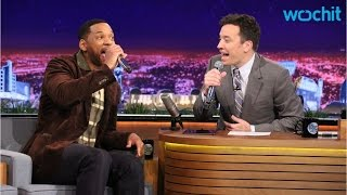 "Will Smith and Jimmy Fallon Beatbox ""It Takes Two"""