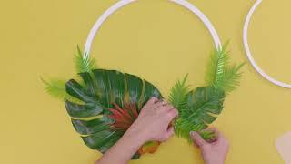 Summer Hoop Wreath | Michaels