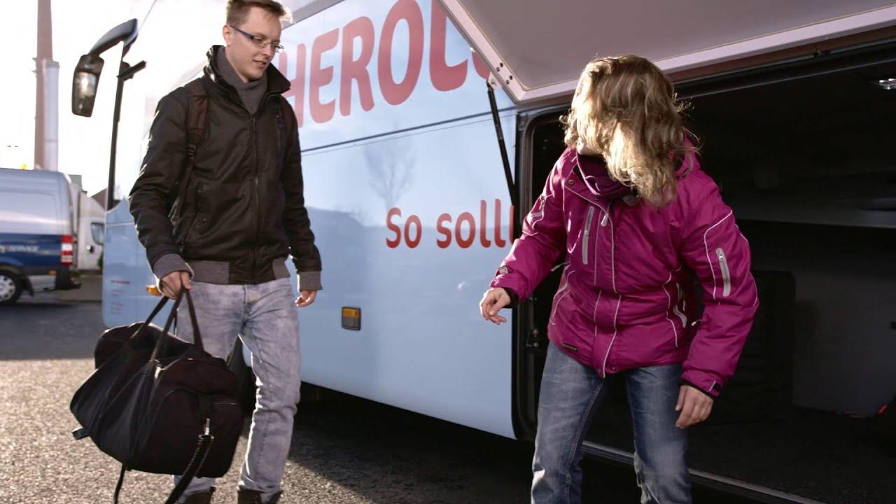 Sicherheit Im Reisebus Mit Herolé Reisen Busmeisterde Youtube