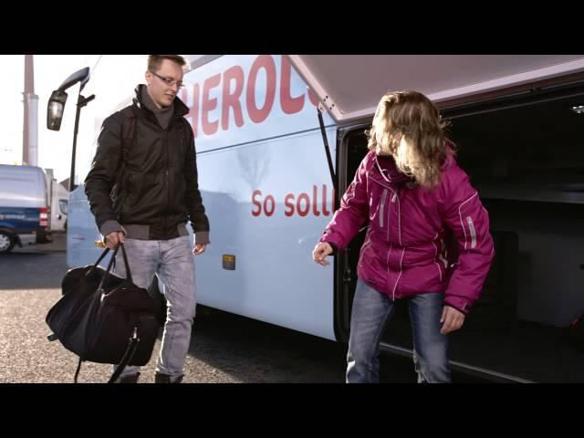 Sicherheit im Reisebus - mit HEROLÉ Reisen & busmeister.de