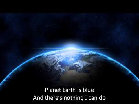 Space Oddity - Mitty Mix (with lyrics)