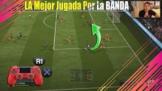 Como Centrar En FIFA 18 - La Mejor Jugada Por Banda TUTORIAL Ultimate Team