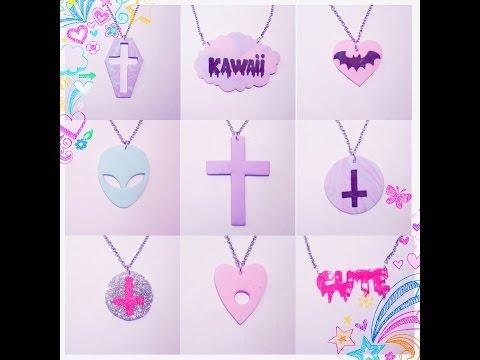 9 Diy Pastel Goth Necklace