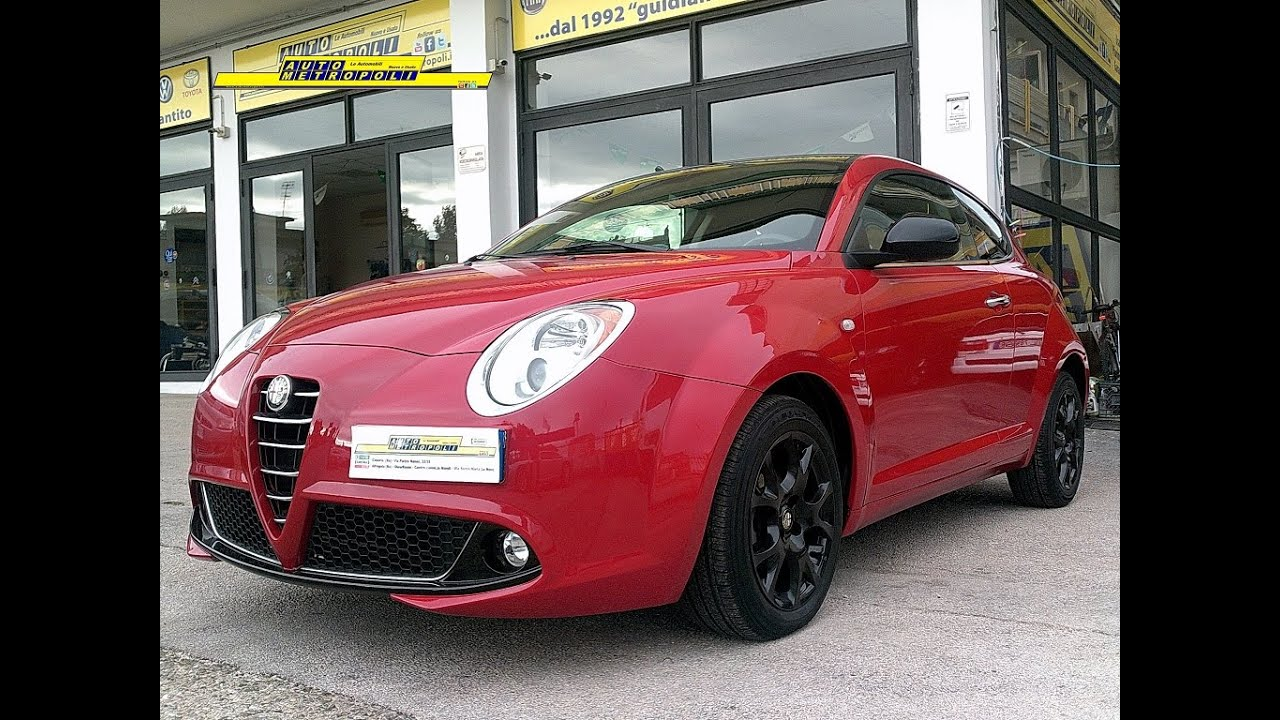 alfa romeo mito 1.4 8v 78cv blackline (gpl) - autometropoli.it