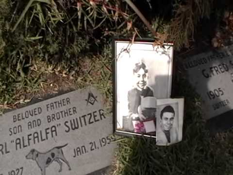 grave of alfalfa the little rascals youtube