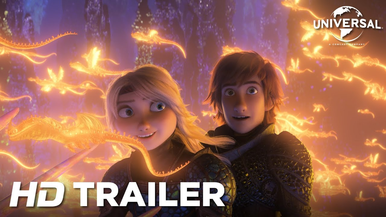 How To Train Your Dragon 3 Officiële Teaser Trailer Universal