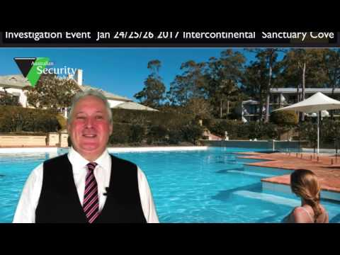 Australian Security Academy Investigation Course #1 2017