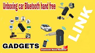 UNBOXING HAND FREE GADGET BLUETOOTH CONTROL