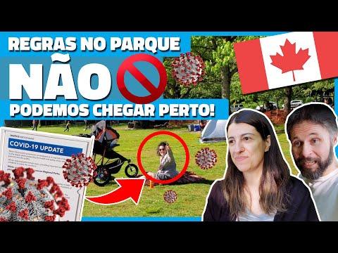 FOMOS PROIBIDOS DE CHEGAR PERTO DOS AMIGOS NA PRAIA DO CANADÁ DURANTE O COVID-19 - Vlog Ep.134