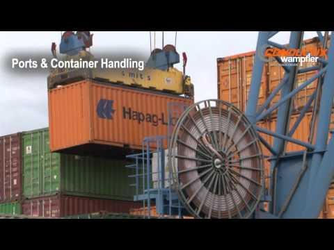 Energy & Data Transmission Systems for Cranes in Container and Material Handling