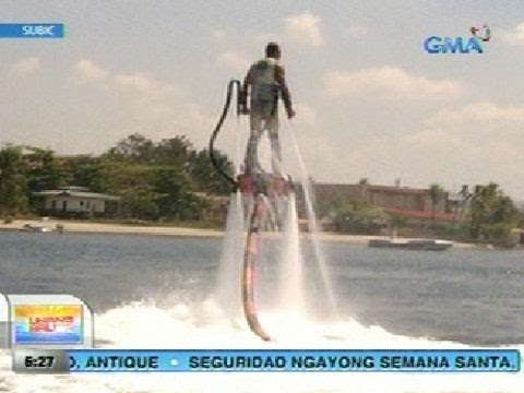 UB: Flyboard o Hydrojet Surfing, patok sa extreme water sport sa Subic