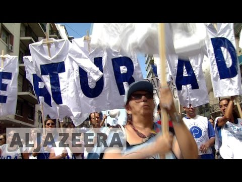Argentina's biggest union calls for anti-government protest
