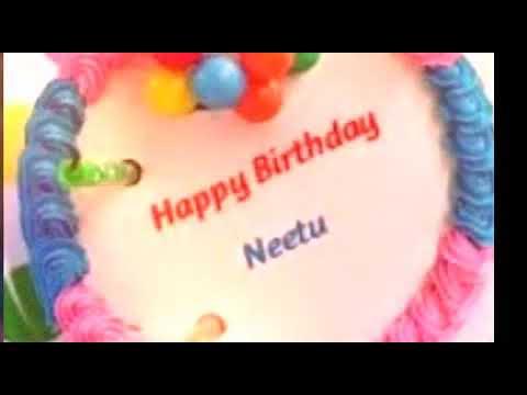 Nitu Neetu Happy Birthday Happy Birthday To You Nitu Enjoy Your Day Cake Eating Day Masti Time