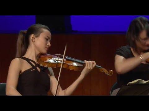 W. A. Mozart String Quintet No. 5, 1st movement | MHIVC: Sumina Studer
