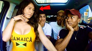 Uber Driver Raps To HOT Girl & Gets Date!