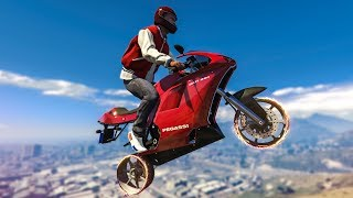 STUNTING WITH NO TIRES! - (GTA 5 Stunts & Fails)
