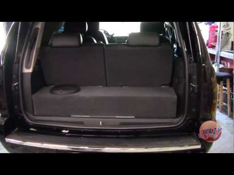 Crazy Stereo Yukon Denali Custom Box Rockford Fosgate Amp Subwoofer