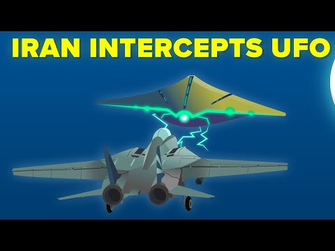 Iran Military Intercepts Alien UFO