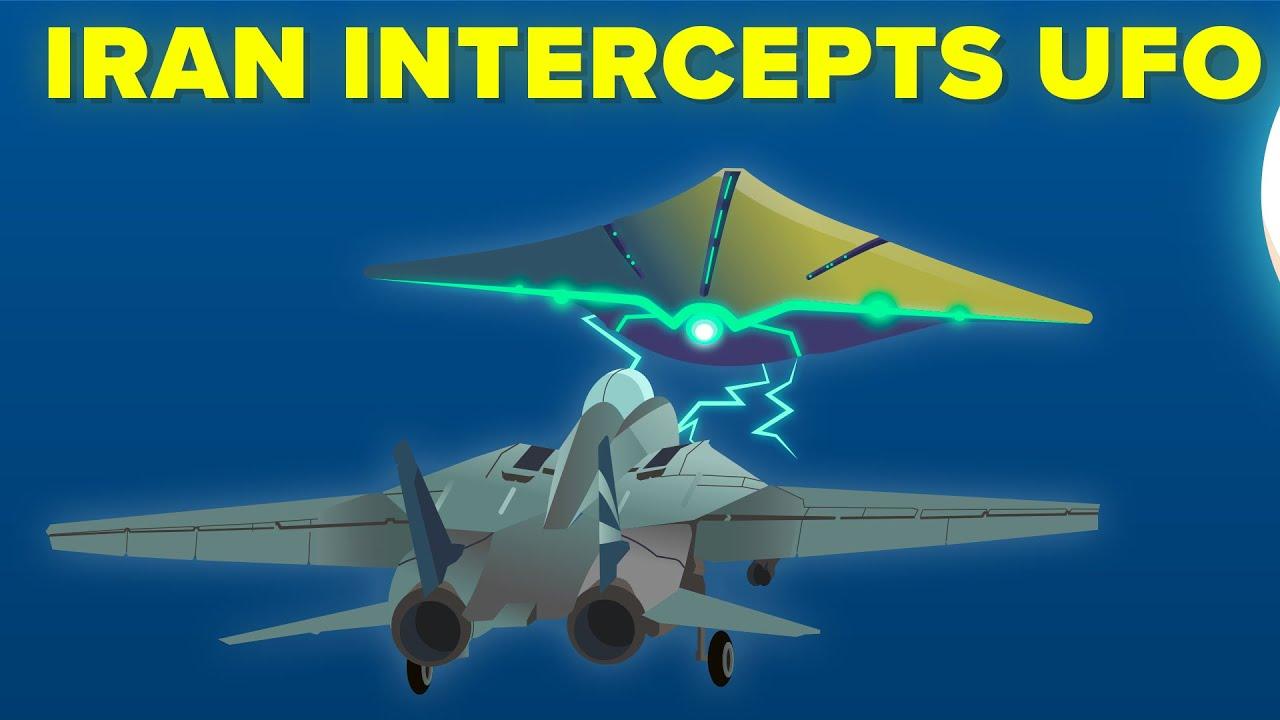 Download Iran Military Intercepts Alien UFO