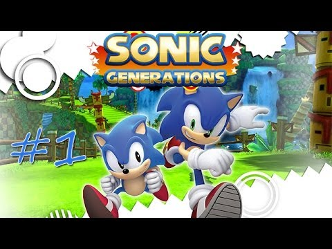 Прохождение Sonic Generations (PC) #1 - Green Hill, Chemical Plant