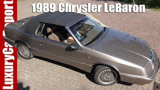 1989 Chrysler LeBaron Convertible Turbo - Review, Test Drive and Walkaround