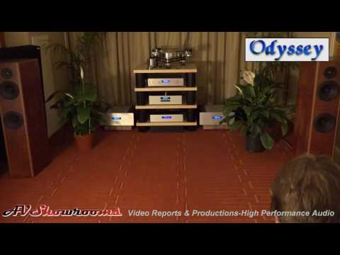 Odyssey Audio, Klaus Bunge, VPI, $9000 system, great sound, great prices, THE Show Newport