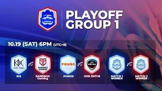 Clash Royale League Asia 2019 Season2 - PLAYOFF DAY.1