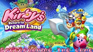 Kirby's Return to Dreamland: (Speedrun Friday)