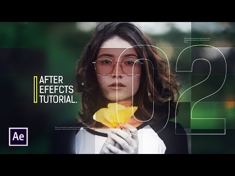 After Effects Tutorial - Digital Slideshow in After Effects