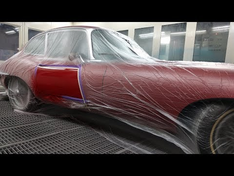 E-Type Jaguar Spot Repair