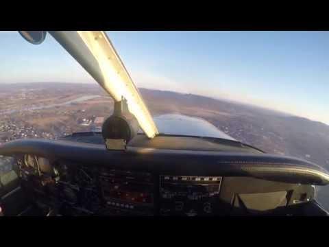 Flying over Northampton, MA