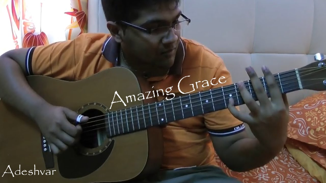 amazing grace guitar jazz fingerstyle cover with tabs youtube. Black Bedroom Furniture Sets. Home Design Ideas