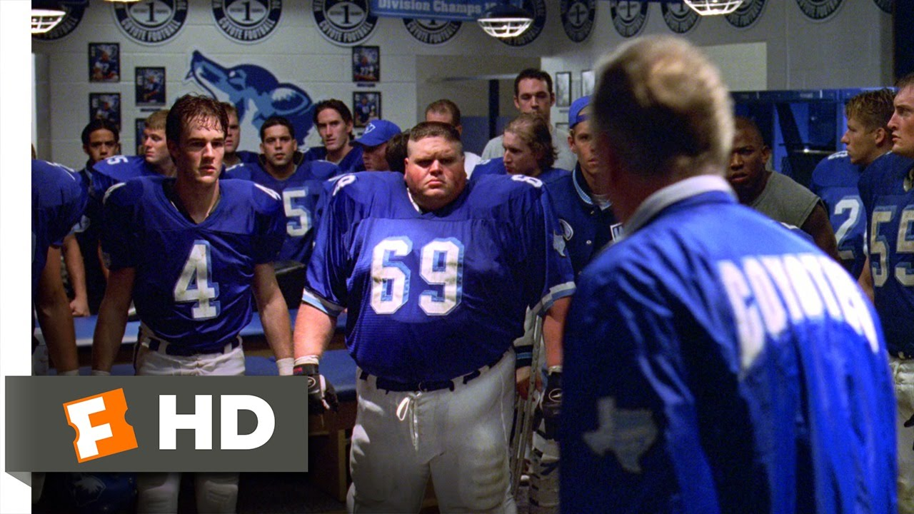 varsity blues In the small (fictional) town of west canaan, texas, football is a way of life, and losing is not an option when star quarterback lance harbor suffers an injury, back-up quarterback john moxon is chosen to lead a texas football team to victory.