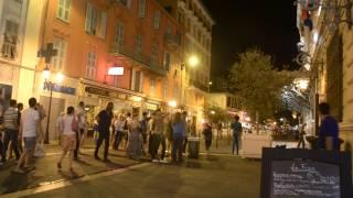 アキーラさん夜の散策③フランス・ニース市街,city,Nice,France