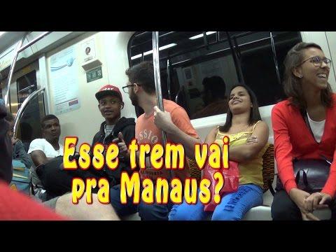 Esse trem vai pra Manaus? - PEGADINHA | Is this train going to Manaus? - PRANK